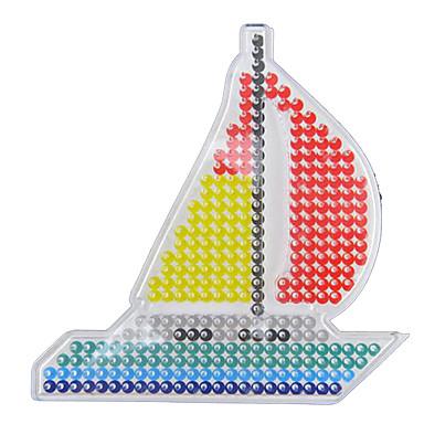 voordelige tekening Speeltjes-Fuse beads Schip 5 mm sjabloon Muovi Klassiek Jongens Meisjes Speeltjes Geschenk