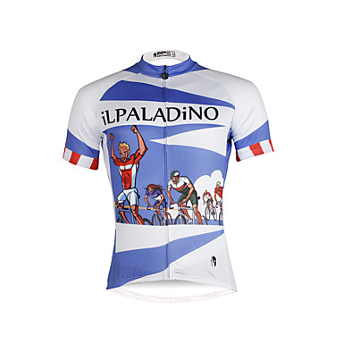 b2c36d6a8 ILPALADINO Men s Short Sleeve Cycling Jersey Fashion Bike Jersey Top ...