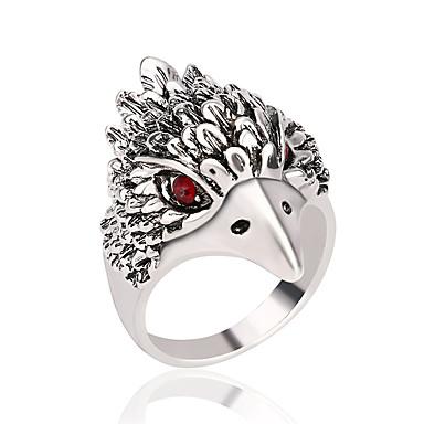 levne Pánské šperky-Pánské Band Ring Syntetický diamant Stříbrná Bronzová Módní Vánoční dárky Párty Šperky