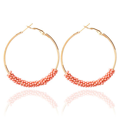 preiswerte Ohrringe-Damen Tropfen-Ohrringe Kreolen Modisch Ohrringe Schmuck Blau / Rosa / Regenbogen Für Hochzeit 1pc