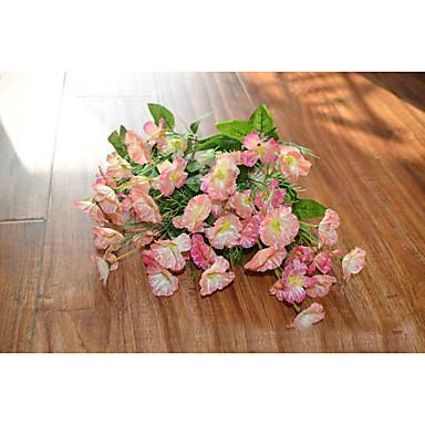 Polyester Svatebni Dekorace 1ks Set Umele Kvetiny Novy Rok