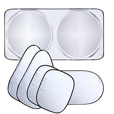 levne Stínítka do auta-clona okna automobilu sluneční clona čelní sklo kryt clony přední okno sluneční clona uv chránit film okna automobilu 6ks / sada
