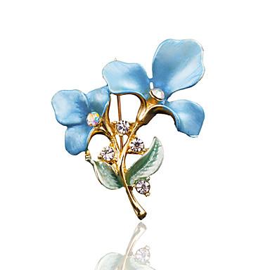 povoljno Značke i broševi-Žene Broševi Stilski Moda Broš Jewelry Plava Pink Zlatan Za Vjenčanje Svakodnevica
