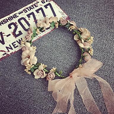 levne Dámské šperky-Dámské Dívčí Vintage Elegantní Krajka Slitina Šperky do vlasů Svatební Párty