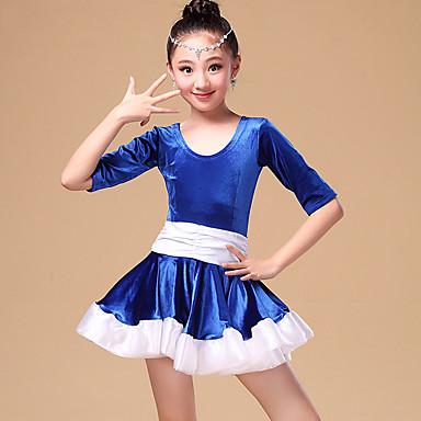 Λατινικοί Χοροί-Φορέματα-Παιδικά(Μαύρο   Φούξια   Λευκό 87d30764598