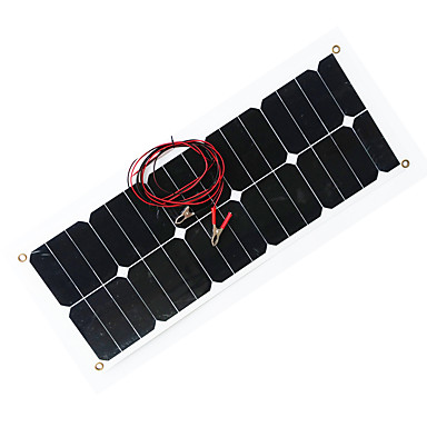 Zdm 30w Output Dc12 18v 1 6a Solar Car Battery Charger Portable
