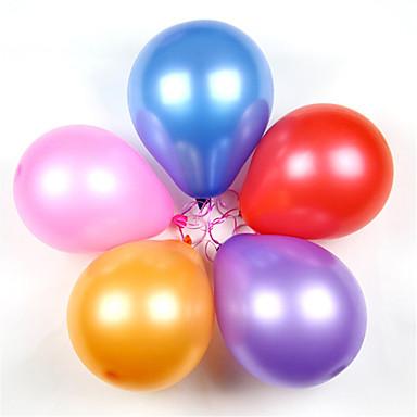 levne Balónky-Míčky Balónky Vzdělávací hračka Párty Klasické Nafukovací Silikon Latex 100 pcs Klasické Děti Dospělé Chlapecké Dívčí Hračky Dárek