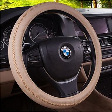billige Interiørtilbehør til bilen-bil rattet miljø lukt varige slitasjen behagelig pustende