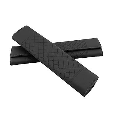 billige Interiørtilbehør til bilen-Setebelte deksel setebelte Beige / Grå / Kakifarget PU Leather Vanlig Til Universell