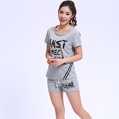 Γυναικεία T-shirt Αθλητικά Ενεργό Γράμμα 267fbb1107b