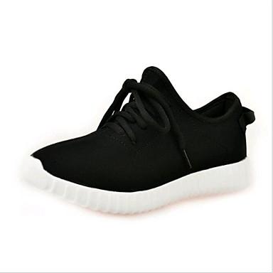 8955e39f25b Τρέξιμο Γυναικεία παπούτσια-Αθλητικά Παπούτσια-Καθημερινά-Πλατφόρμα -Creepers-Πανί-Μαύρο / Κόκκινο / Άσπρο 5146206 2019 – $19.99
