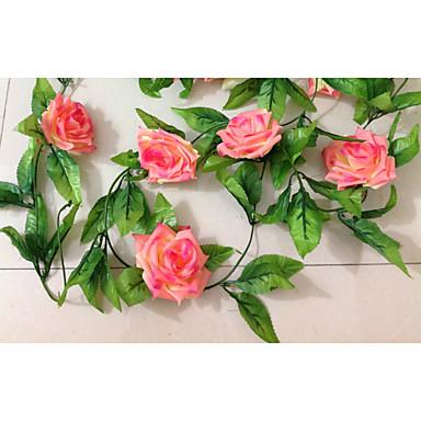 Polyetylen Svatebni Dekorace 1ks Set Umele Kvetiny Svatba Zahrada