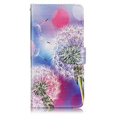 Carcasă Pro Huawei Peněženka   Pouzdro na karty   se stojánkem Celý kryt  Pampeliška Pevné PU kůže pro Honor 8 5188506 2019 –  4.99 b05142be404