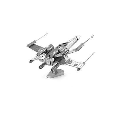 levne 3D puzzle-Puzzle 3D puzzle Stavební bloky DIY hračky Letadlo 1 Kov