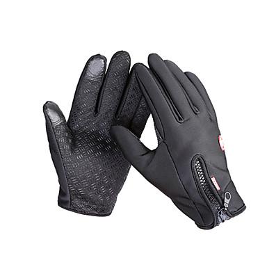 Touch Gloves Ski Gloves Bike Gloves / Cycling Gloves Men's Women's Full-finger Gloves Keep Warm Waterproof Windproof Anti-skidding Canvas
