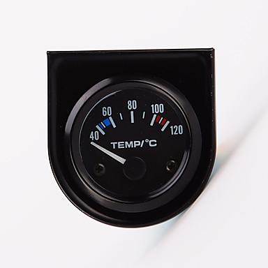 "billige Motorsykkel & ATV tilbehør-2 ""52mm 12V Universal Pekeren Vanntemperatur Temp Måler 40-120 Hvit LED"