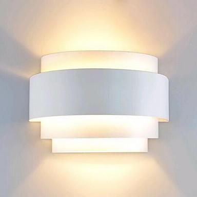 cheap Indoor Lighting-Lightinthebox Modern Contemporary Flush Mount wall Lights Pathway Metal Wall Light 110-120V / 220-240V 60 W / E26 / E27