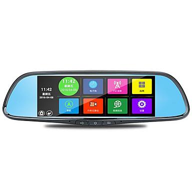 billige Bil-DVR-den spesielle 7 tommers bil bakspeilet fartsskriver android stemmestyrt navigasjon reaview wifi