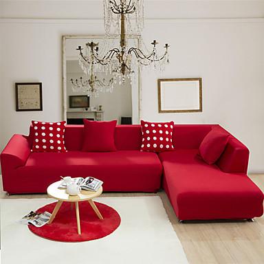 رخيصةأون غطاء-غطاء أريكة لون سادة جاكار 65% رايون 35% بوليستر الأغلفة