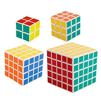 Magic Cube IQ-kub shenshou 2*2*2 3*3*3 4*4*4 5*5*5 2*2 Mjuk hastighetskub Magiska kuber Stresslindrande leksaker Pusselkub professionell nivå Hastighet Professionell Klassisk & Tidlös Barn Vuxna