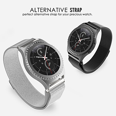 [$12 99] Watch Band for Gear S2 Classic Samsung Galaxy Milanese Loop  Stainless Steel Wrist Strap