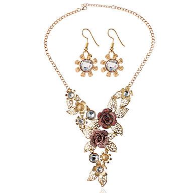 Žene Svadbeni nakit Setovi Naušnice Jewelry Zlato Za Vjenčanje Party