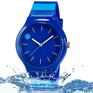 povoljno Ženski satovi-Ručni satovi s mehanizmom za navijanje Kvarc Plava Cool Šarene Analog Listići Prženje Ležerne prilike Na prugice Moda - Dark Blue