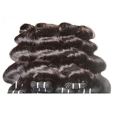 povoljno Ekstenzije od ljudske kose-8 paketića Brazilska kosa Tijelo Wave Ljudske kose plete Isprepliće ljudske kose Proširenja ljudske kose
