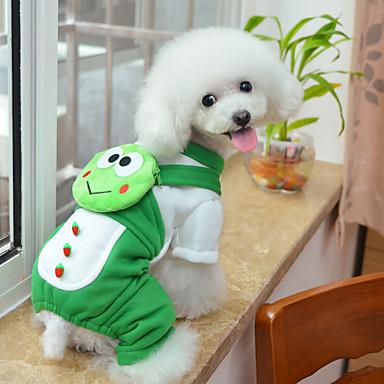 Собаки Комбинезоны   Рюкзак Зеленый Одежда для собак Зима   Весна осень  Мультфильмы Милые   На каждый день 5303664 2019 –  12.99 97b4871327e62