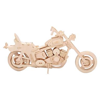 voordelige 3D-puzzels-Legpuzzels 3D-puzzels Houten puzzels Bouw blokken DHZ-speelgoed Motorfietsen Hout