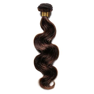 povoljno Ekstenzije za kosu-Indijska kosa Tijelo Wave Ljudska kosa Precolored kose plete Isprepliće ljudske kose Proširenja ljudske kose / 8A