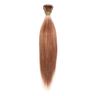 povoljno Ekstenzije za kosu-1 paket Indijska kosa Yaki Remy kosa Ljudske kose plete 10-18 inch Isprepliće ljudske kose Proširenja ljudske kose / 10A