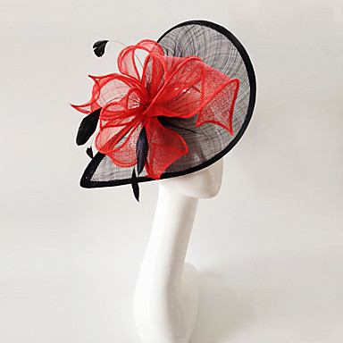 povoljno Party pokrivala za glavu-lana pero fascinators headpiece elegantan klasični ženski stil
