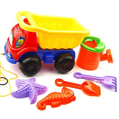 voordelige water Speeltjes-Speelgoedauto's Strand Speelgoed Doen alsof-spelletjes ABS 6 pcs Stuks Kinderen Volwassenen Speeltjes Geschenk