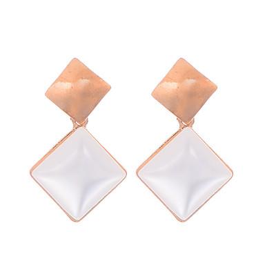 povoljno Modne naušnice-Žene Sintetički opal Naušnica dame Vintage Moda Pozlaćeni Opal Naušnice Jewelry Zlato Za Vjenčanje Party