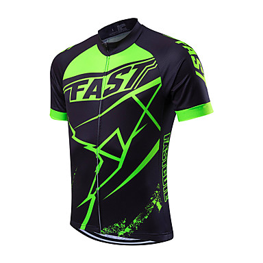 Fastcute Men s Short Sleeve Cycling Jersey Classic Bike Jersey Top  Breathable Quick Dry Sweat-wicking Sports Coolmax® Mountain Bike MTB Road Bike  Cycling ... cb213ebbe