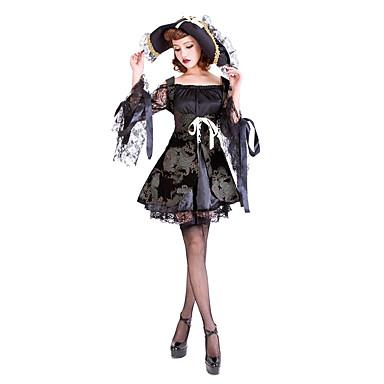 Cosplay Kostymer Dräkter   Maskerad   Festklädsel Pirat Festival Högtid  Halloween Kostymer svart Spets Klänning   Mer accessoarer   Hatt 5273997  2019 – ... 6b33d99f1d4ef