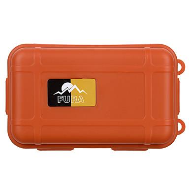 Vattentätt fodral Vattentät Överlevnad Bekväm Nylon Camping Utomhus Land Resor Svart Orange Khaki grön 1 pcs
