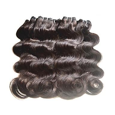 cheap Unprocessed Hair-Virgin Human Hair Remy Weaves Body Wave Brazilian Hair 2000 g 6 Months