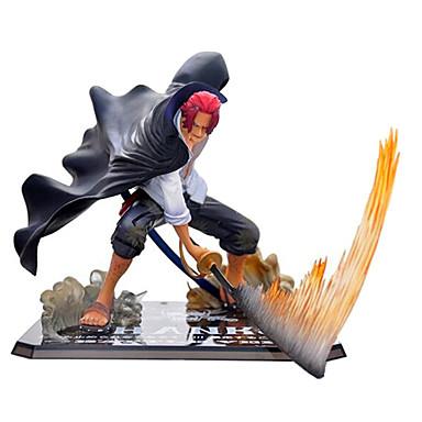 Anime Actionfigurer Inspirerad av One Piece Akakami ingen shankusu CM Modell Leksaker Dockleksak Herr