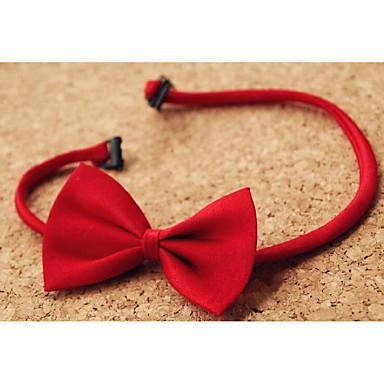 baratos Acessórios para Crianças-Infantil / Bébé Para Meninos Algodão Organico Gravatas e Laços Preto / Vermelho