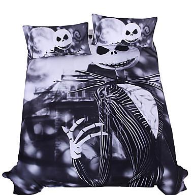 halloween duvet cover sets novelty poly cotton reactive print 3 piece 200 3pcs 1 duvet cover 2 shams 5282640 2018 4039