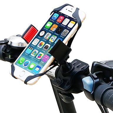 billige Sykkeltilbehør-Telefonstativ til sykkel Justerbare Flyvning med 360 graders flipp GPS til Vei Sykkel Fjellsykkel Motorsykkel Silikon ABS iPhone X iPhone XS iPhone XR Sykling Svart Rød 1 pcs