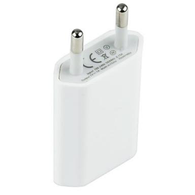 preiswerte Telefone & Zubehör-Adapter / Ladegeräte für Zuhause / Tragbares Ladegerät USB-Ladegerät EU Stecker Lade-Kit 1 USB Anschluss 1 A für