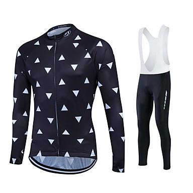 426c58c792c3 Fastcute Ανδρικά Γυναικεία Μακρυμάνικο Αθλητική φανέλα και κολάν ποδηλασίας  Ποδήλατο Bib Καλσόν Καλσόν Ποδηλασία Αθλητική μπλούζα Σετ 5254496 2019 –   45.89
