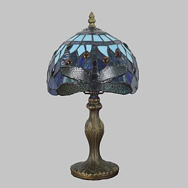 Flerfärgad skärm Tiffany / Rustik / Stuga / Modern Skrivbordslampa Harts vägg~~POS=TRUNC 110-120V / 220-240V 25W