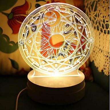 Crooked Melon Produced Cardcaptor Sakura Cardcaptor Sakura Magic Fat0Led3D Lamp Nightlights