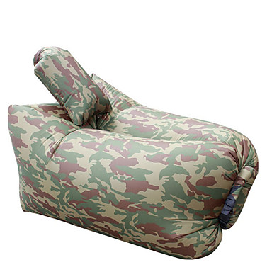 Sensational 23 99 Ultralight Inflatable Lazy Sofa With Pillow Beach Chair For Leisure Activities Camouflage Pabps2019 Chair Design Images Pabps2019Com