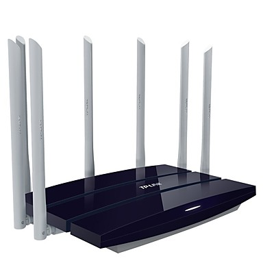 [$63 99] Quality Goods Tp - Link Wireless Router Wifi Wall 7 Dual-Band  Antenna 2200 M Optical Fiber Tl - King Wdr8400