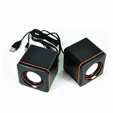 Computer Mini Speaker Stereo Portable Notebook Desktop Laptop USB Speakers